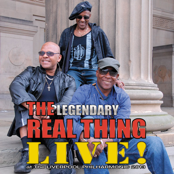 The Real Thing - Live! at Liverpool 2013 front cover