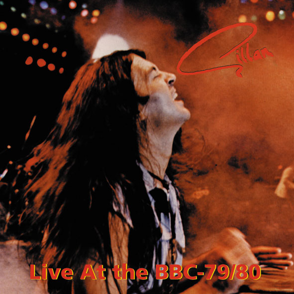 Gillan - Live at the BBC79-80 front cover